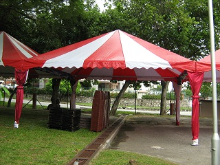 20' x 20' Pyramid Tent - Basic Package - TentHouz