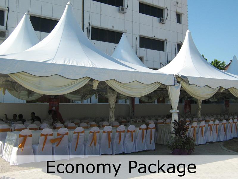 Economy-Package-(White) - TentHouz Malaysia & Canopy Rental in Klang Malaysia | TentHouz Rental Solution