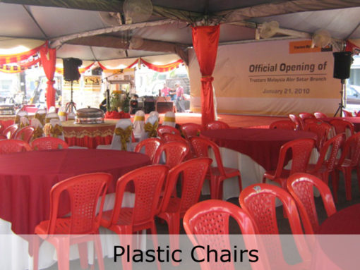 Plastic-Chairs-Red-TentHouz-Malaysia